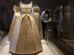 royal dresses on display in london