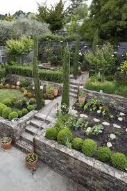 garden step on a slope design ideas