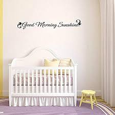 com art quote saying home good morning sunshine written