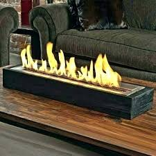 brick prefabricated wood burning scenic
