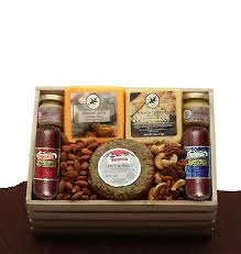 selections meat cheese gift crate