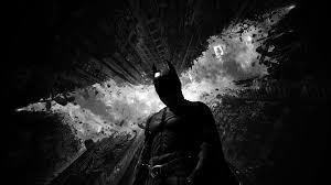 aq90 batman dark bw hero art wallpaper