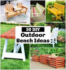 diy outdoor bench plans you can build