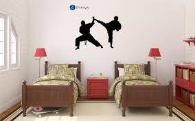 Karate Decal Karate Stickers Karate Wall Decal Karate Etsy Boys Room Decor Boys Room Decals Boy Wall Art