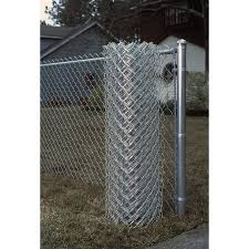 3 Ft H X 50 Ft L 11 Gauge Galvanized Steel Chain Link Fence Fabric In The Chain Link Fence Fabric Department At Lowes Com