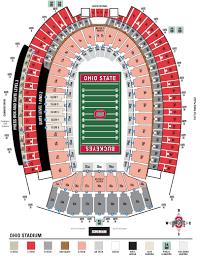 ohio stadium seating chart and stadium