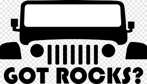 Jeep Car Decal Bumper Sticker Jeep Text Truck Png Pngegg