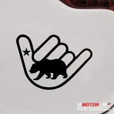 Bumper Stickers Decals Magnets Exterior Accessories 3s Motorline 2x Red 4 California Bear Decal Sticker Map Outline Republic Cali Car Vinyl