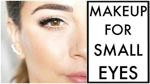 makeup for small eyes you