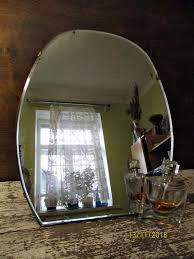 vintage mirror table mirror toilet