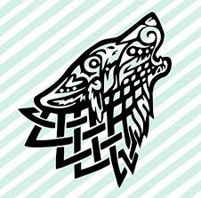 Amazon Com Celtic Wolf Vinyl Decal Celtic Wall Art Celtic Knot Stickers Celtic Knot Decals Wolf Decals Wolf Stickers Handmade
