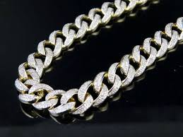 10k yellow gold miami cuban link 8 5 mm
