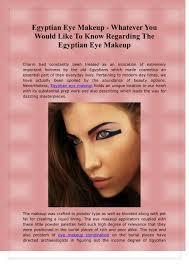ppt egyptian eye makeup wver
