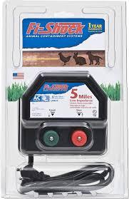 Amazon Com Fi Shock Ea5m Fs 5 Mile Low Impedance Electric Fence Energizer Livestock Equipment Garden Outdoor