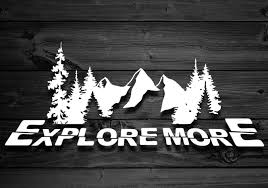 Mountain Vinyl Decal Car Decal Decal For Yeti Decal For Etsy Car Sticker Design Car Decals Vinyl Decals