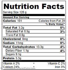 homemade greek yogurt nutrition facts