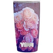 Skin Decal Vinyl Wrap 5 Piece Kit For Yeti 20 Oz Rambler Tumbler Stickers Skins Cover Cup Pink Roses Walmart Com Walmart Com