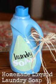 homemade liquid laundry detergent free