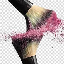 blush pink splash collision
