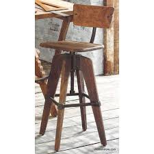 roost phineas drafting stool with back