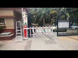 Essl Boom Gate With Fencing Arm Youtube