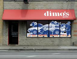 Dimo S Window Decals Phil Parcellano Design Photography And Illustration Services