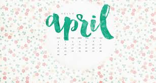 april 2018 calendar wallpaper latest