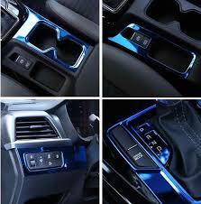 Stainless Steel Car Sticker Upgrade Dashboard Gear Frame Water Cup Frame Door Armrest Trim For Kia Sportage R 2018 Decals Stickers Aliexpress