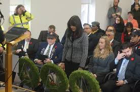 Laying of the wreaths: Janine West,... - City of Côte Saint-Luc | Facebook