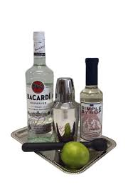 simply superior rum gift basket
