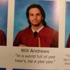 of the funniest senior quotes that somehow made it in the
