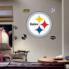 Fathead Pittsburgh Steelers Logo Wall Decor Target