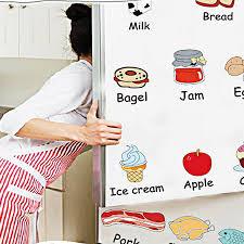 Decal trang trí tủ lạnh tiếng anh am7090 - Thông điệp chữ Thương hiệu OEM