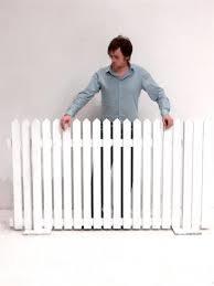 White Picket Fencing Section Event Prop Hire
