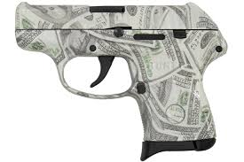 ruger lcp 380 acp with hundred dollar
