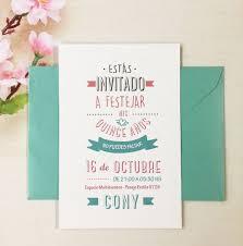 Invitaciones De 15 Con Sobre Perlado Cumpleanos 40 00 En