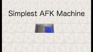 The Simplest Afk Machine Youtube