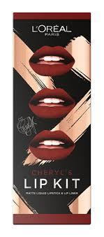 cheryl unveils her debut lip kit range