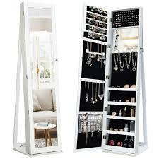 jewelry armoire storage organizer
