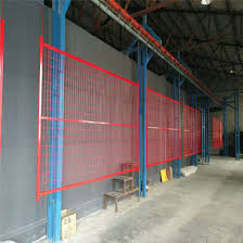 China Factory Canada Standard Temporary Construction Fence China Fence Panel Wire Mesh Fence