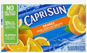 capri sun orange juice nutrition facts