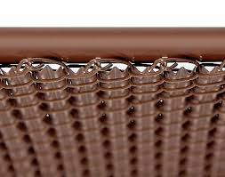 Home Garden Chain Link Fencing Chain Link White Single Wall Ridged Privacy Slat For 7ft High Fence Bottom Lock Zeanaglow Com
