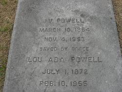 Lou Ada Powell (1872-1955) - Find A Grave Memorial