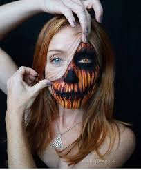 halloween makeup idea face painting by