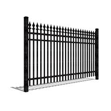 Industrial Aluminum Fences Jerith Manufacturing Llc Caddetails