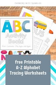 free printable a z alphabet tracing