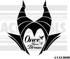 Maleficent Once Upon A Dream Sleeping Beauty Laptop Vinyl Decal Sticker Ebay