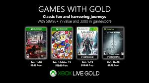 games with gold mylesfreeman