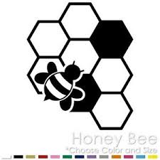 Honey Bee Beekeeper Honeycomb Honey Nectar Car Vinyl Decal Sticker Hb 01 Ebay