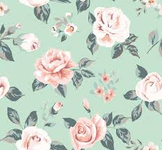 seamless vine flower pattern
